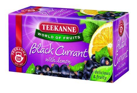 TEEKANNE BLACK CURRANT WITH LEMON 1/20 filter