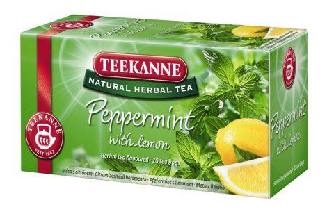 TEEKANNE PEPPERMINT WITH LEMON 1/20 filter